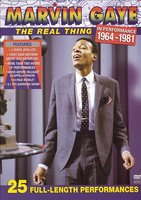 DVD + Audio CD Marvin Gaye. The Real Thing In Performance 1964 - 1981