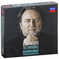 Audio CD Riccardo Chailly. Beethoven. The symphonies