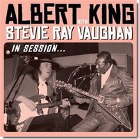 Albert King with Stevie Ray Vaughan. In Session