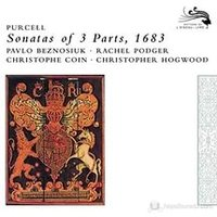Audio CD Christopher Hogwood. Purcell: 12 Sonatas Of Three Parts