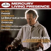 Audio CD Antal Dorati. Satie: Parade. Milhaud: Le Boeuf Sur Le Toit