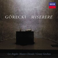 Audio CD Los Angeles Master Chorale. Gorecki: Miserere