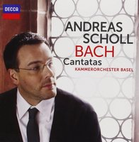 Audio CD Andreas Scholl. Bach Cantatas