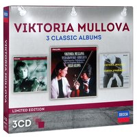 Audio CD Viktoria Mullova. 3 Classic Albums. Limited Edition