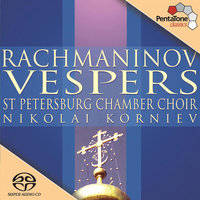Audio CD St.Petersburg Chambe. Rachmaninov: Vesper