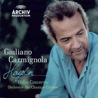 Audio CD Giuliano Carmignola. Haydn: Violin Concertos