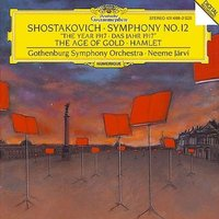 Audio CD Gothenburg Symphony Orchestra, Neeme Jarvi. Shostakovich: Symphony No.12 The Year 1917; Hamlet; The Age Of Gold