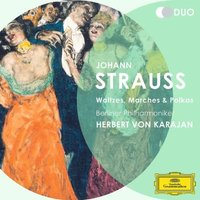 Audio CD Herbert von Karajan. Strauss II., J.: Waltzes, Marches And Polkas