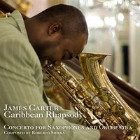 Audio CD James Carter. Caribbean Rhapsody. Concerto For Saxophones And Orchestra