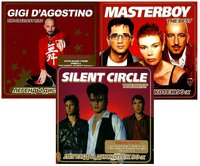 Сборник. Легенды 90-Х (3 CD) / Gigi D'agostino. The Best. Легенды дискотек 90-х. / Masterboy. The Best / Silent Circle. The Best