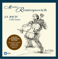 Mstislav Rostropovich: J.S. Bach - Cello Suites (4 LP)