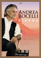 DVD Andrea Bocelli. Cinema