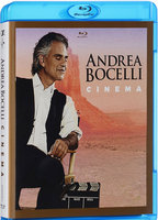 Blu-Ray Andrea Bocelli. Cinema