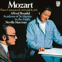 LP Wolfgang Amadeus Mozart. Piano Concertos No.20 & 24 (Alfred Brendel, Academy of St. Martin in the Fields, Neville Marriner) (LP)