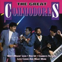 Audio CD Commodores. The Great Commodores