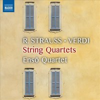 Audio CD Enso Quartet. String Quartets: R. Strauss, G. Verdi, G. Puccini