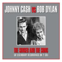 Audio CD Johnny Cash and Bob Dylan. The Singer and the Song