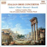 Audio CD Italian Oboe Concertos, Vol. 2