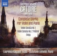 Laurence Kayaleh, Stephane Lemelin. Works for Violin and Piano (CD)