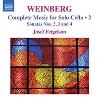 Audio CD Josef Feigelson. Music for Solo Cello Volume 2