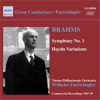 Audio CD Wilhelm Furtwängler, Berlin Philharmonic Orchestra. Brahms: Symphony No. 1/ Variations on a Theme by Haydn