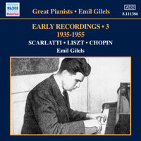 Audio CD Emil Gilels. Gilels: Early Recordings 3