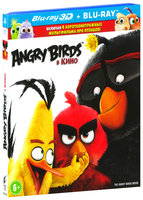 Angry Birds в кино (Real 3D Blu-Ray + Blu-Ray) / The Angry Birds Movie
