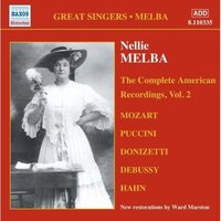 Audio CD Nellie Melba. Melba, Nellie: American Recordings