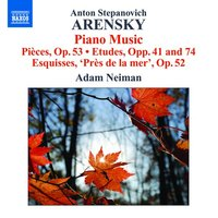 Audio CD Anton Arensky. Piano Music. Neiman,Adam