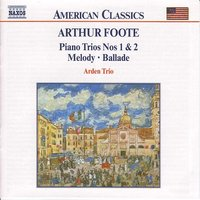 Audio CD Arthur Foote. Chamber Music Vol. 3
