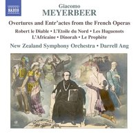 Audio CD Giacomo Meyerbeer. Meyerbeer, G.: Overtures And Entr`Actes From