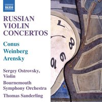 Audio CD Ostrovsky, Sanderling, Bournem. Russian Violin Concertos