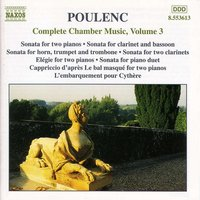 Audio CD Poulenc. Complete Chamber Music Vol. 3