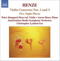 Audio CD Henze. Violin Concertos Nos.1 & 3