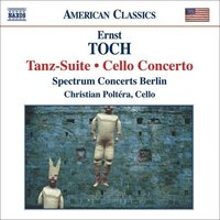 Audio CD Toch. Tanz-suite. Cello concerto