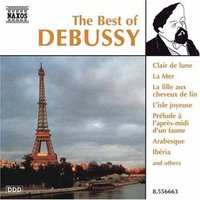 Audio CD Various. The Best of Debussy