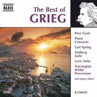 Audio CD Various. The Best Of Grieg