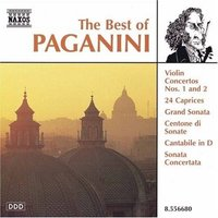 Various. The Best Of Paganini (CD)
