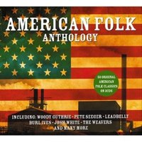 Audio CD Various Artists. American Folk Anthology