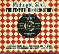 Various Artists. Midnight Shift: The Festival Records Story 1958-1960 (2 CD)