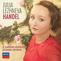 Audio CD Julia Lezhneva. Handel