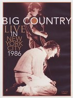DVD Big Country. Live In New York City - 1986