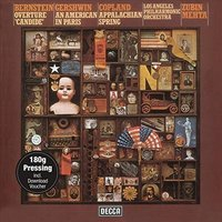 LP Zubin Mehta & Los Angeles. Candide-Ouverture/Appalac (LP)