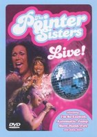DVD The Pointer Sisters. Live!