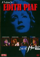 Various artists. Tribute To Edith Piaf: Live At Montreux 2004 (DVD)