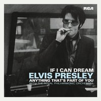 LP Elvis Presley. If I Can Dream / Anything That's Part of You (LP)