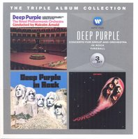 Audio CD Deep Purple. Triple Album Collection: Concerto For Group... /Fireball / In Rock