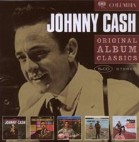 Audio CD Johnny Cash. Original Album Classics (The Fabulous Johnny Cash / Hymns By Johnny Cash / Songs Of Our Soil / Ride This Train / Orange Blossom Special)