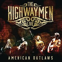 Blu-Ray + Audio CD The Highwaymen. Live - American Outlaws