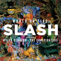 Audio CD Slash. World On Fire + футболка S